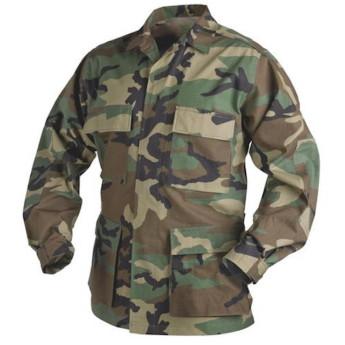 GIACCA BDU WOODLAND AMERICANA US ARMY