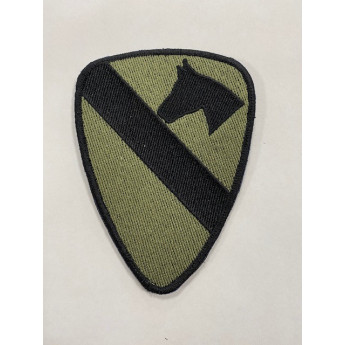 Patch-toppa cavalry verde militare usa