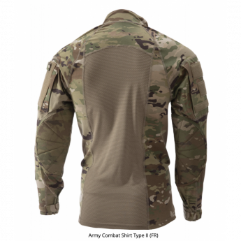 Tactical shirt type II Multicam con zip US ARMY made in usa originale