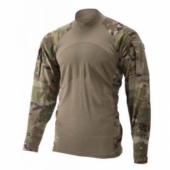 Tactical shirt Combat Massif Mimetismo Multicam US ARMY made in usa