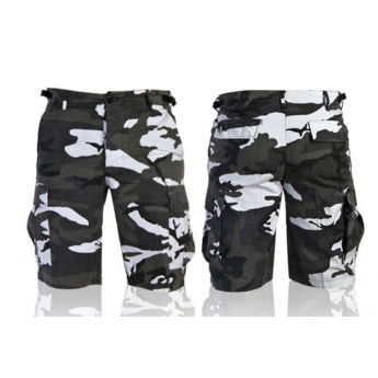 Pantalone corto bermuda militare americano bdu mimetismo urban