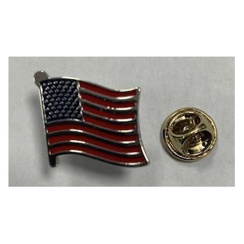 Spilla in metallo Bandiera Americana da Giacca