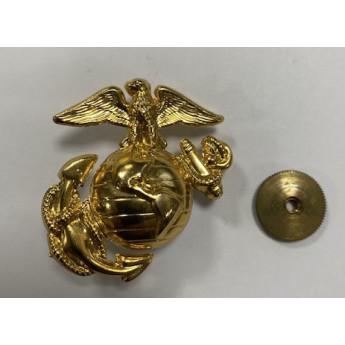 Spilla per cappello dorata dei Marines Corps da istruttore