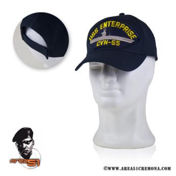 Cappello della marina militare americana USS ENTERPRISE CVN-65