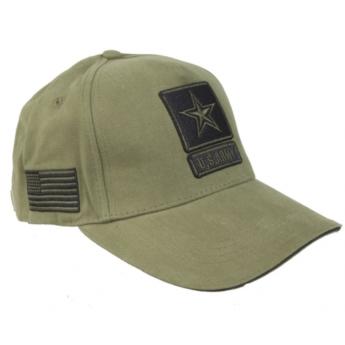 Berretto Militare in Cotone U.S.ARMY  verde