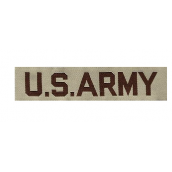 Patch ricamato US ARMY desert originale