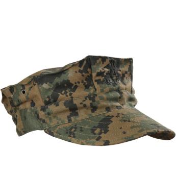 Cappello militare americano Garrison Marpat Woodland USMC