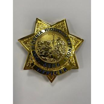 PLACCA BADGE CALIFORNIA HIGHWAY PATROL POLIZIA AMERICANA