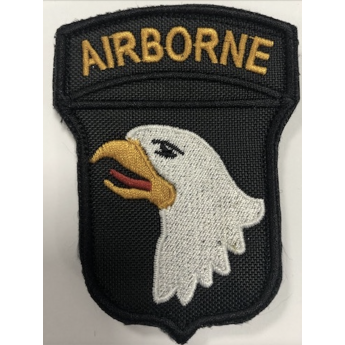PATCH TOPPA RICAMATA 101 ST AIRBORNE DIVISIONE SCREAMING EAGLE MILITARY