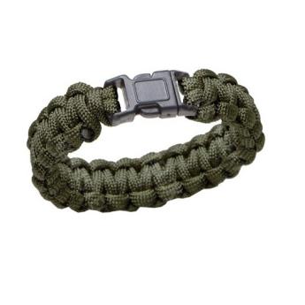 Bracciale Paracord 550 Militare americano Verde od