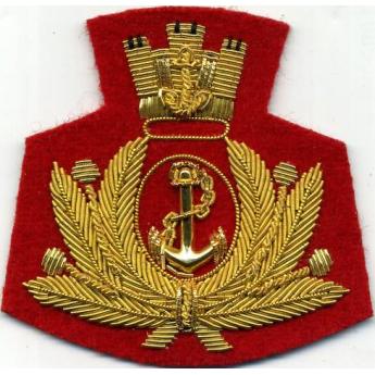 Fregio da basco marina militare del  Battaglione San Marco maro'