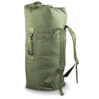 Borsone Originale duffel bag americano dei marines  USMC (Usato)