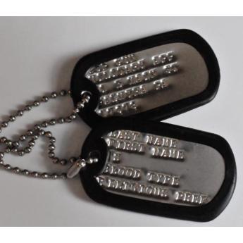 Piastrine Militari di riconoscimento  esercito  Americano usmc