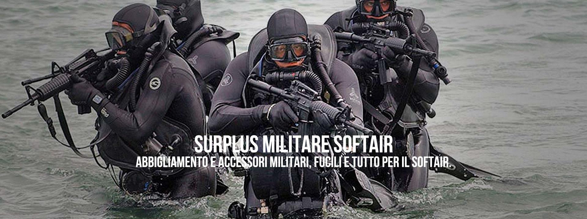 Surplus Militare Softair Abbigliamento e Accessori Militari, Fucili e tutto per il Softair